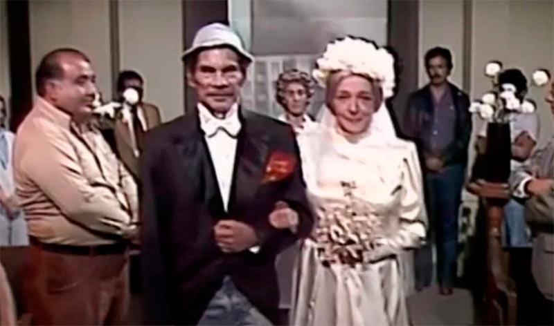 Don Ramon y doña Clotildes se casan